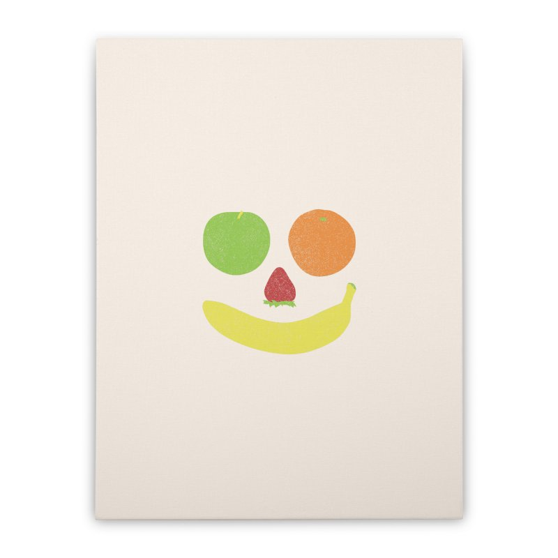 Fresh N Fruity Home Stretched Canvas by lunchboxbrain's Artist Shop