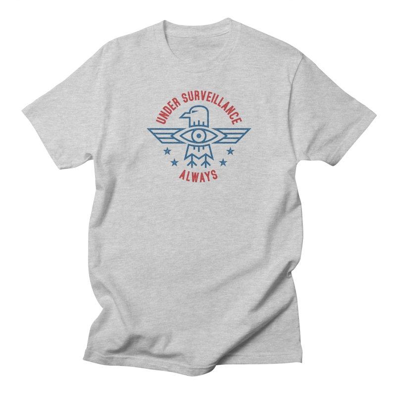 USA Men's Regular T-Shirt by lunchboxbrain's Artist Shop