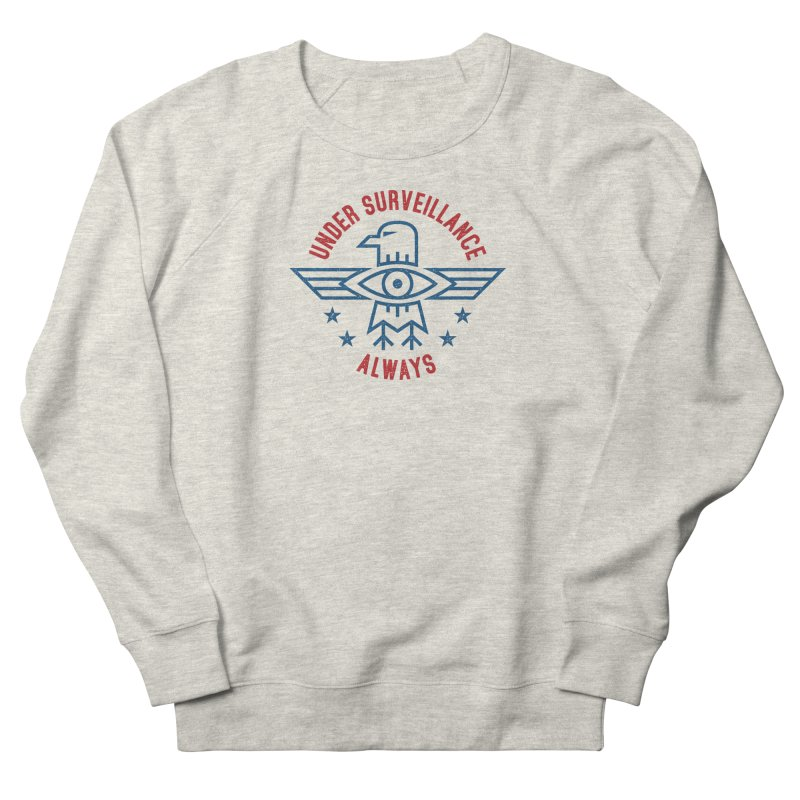 USA Men's Sweatshirt by lunchboxbrain's Artist Shop