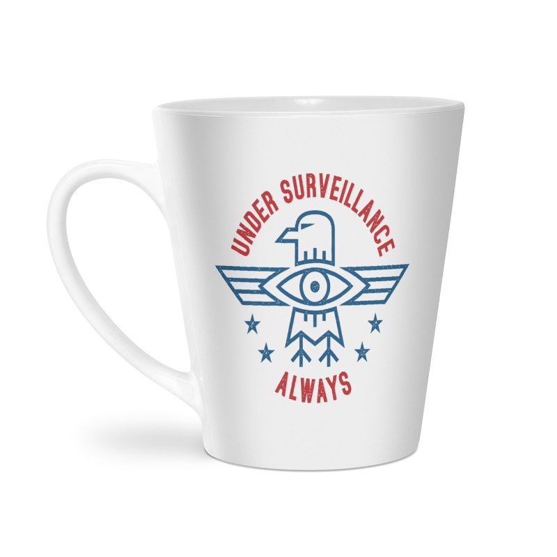 USA Accessories Latte Mug by lunchboxbrain's Artist Shop