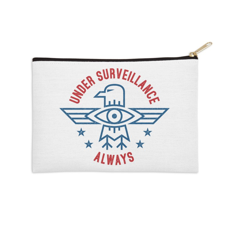 USA Accessories Zip Pouch by lunchboxbrain's Artist Shop