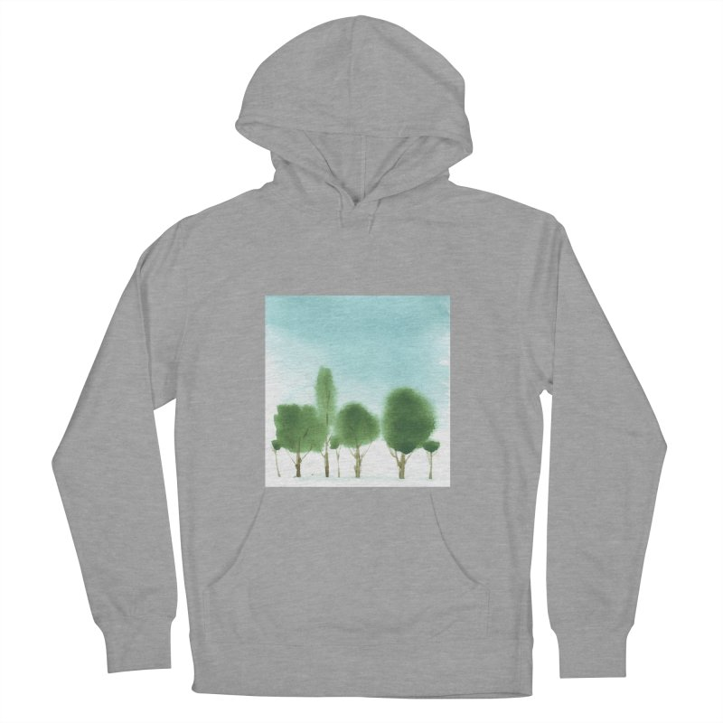 Forest 70p Women's Pullover Hoody by Luskay Art Shop