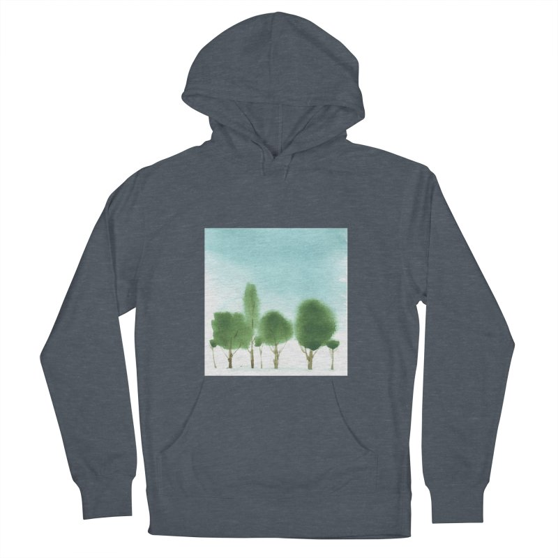 Forest 70p Men's Pullover Hoody by Luskay Art Shop