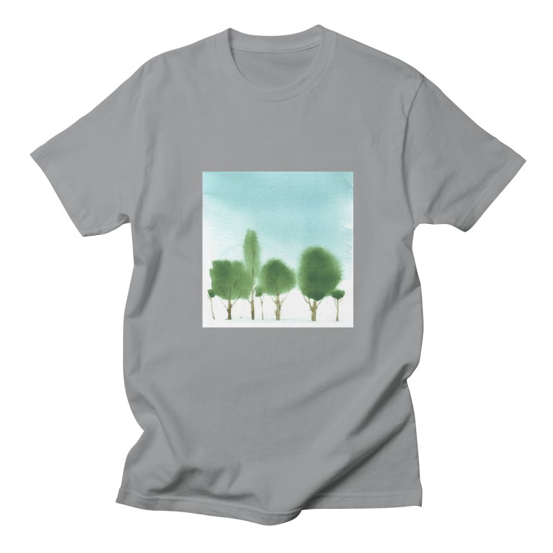 Forest 70p Men's T-Shirt by Luskay Art Shop