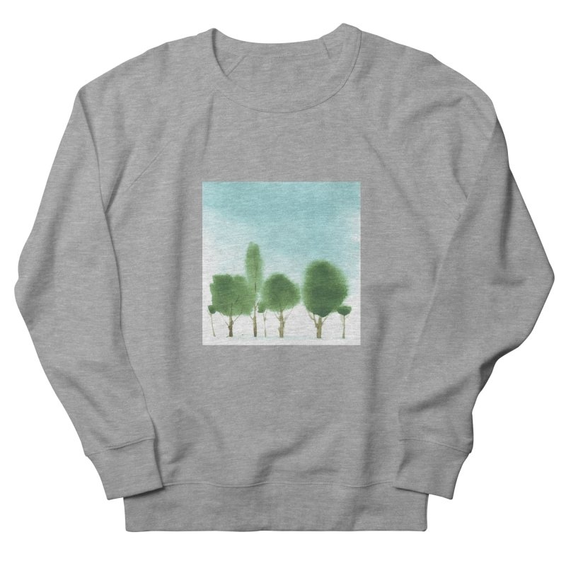 Forest 70p Women's French Terry Sweatshirt by Luskay Art Shop
