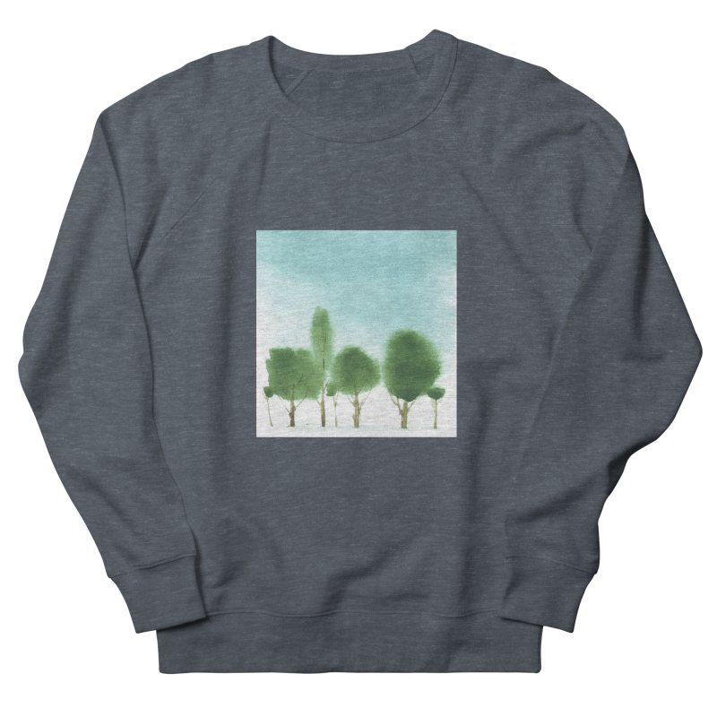 Forest 70p Men's Sweatshirt by Luskay Art Shop