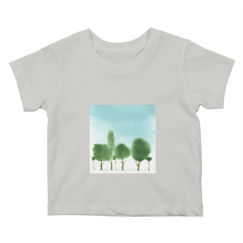 Forest 70p Kids Baby T-Shirt by Luskay Art Shop
