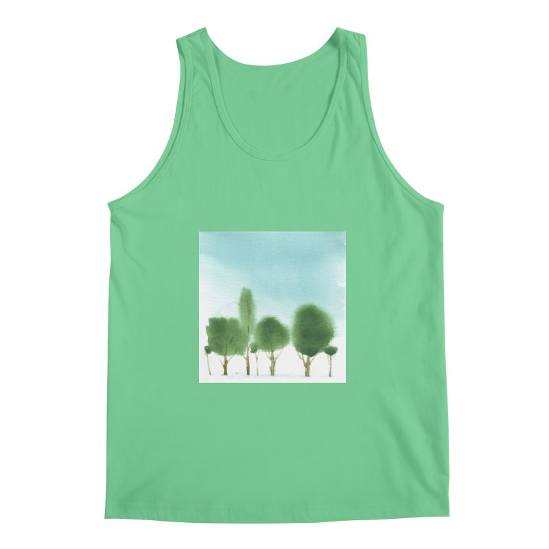Forest 70p Men's Tank by Luskay Art Shop
