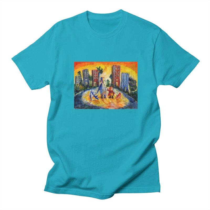 No Rain 70p Men's T-Shirt by Luskay Art Shop
