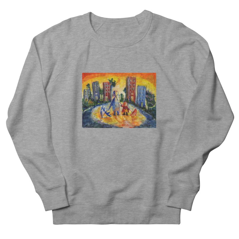 No Rain 70p Men's Sweatshirt by Luskay Art Shop