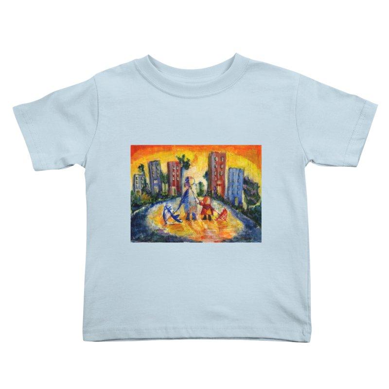 No Rain 70p Kids Toddler T-Shirt by Luskay Art Shop