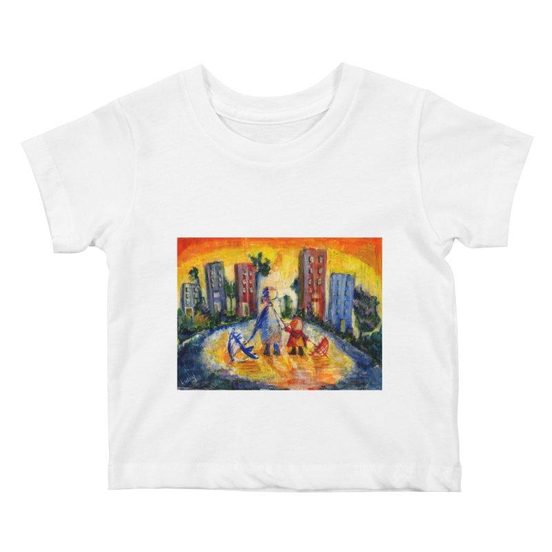 No Rain 70p Kids Baby T-Shirt by Luskay Art Shop