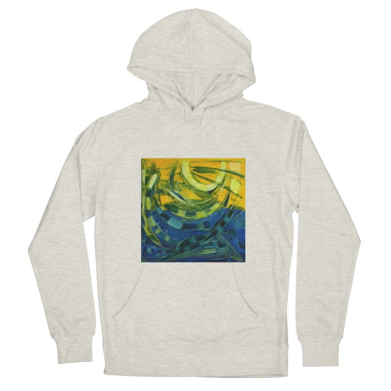 Snail Women's French Terry Pullover Hoody by Luskay Art Shop