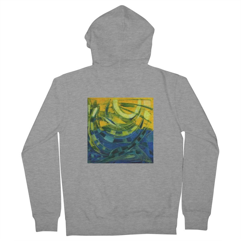 Snail Women's French Terry Zip-Up Hoody by Luskay Art Shop