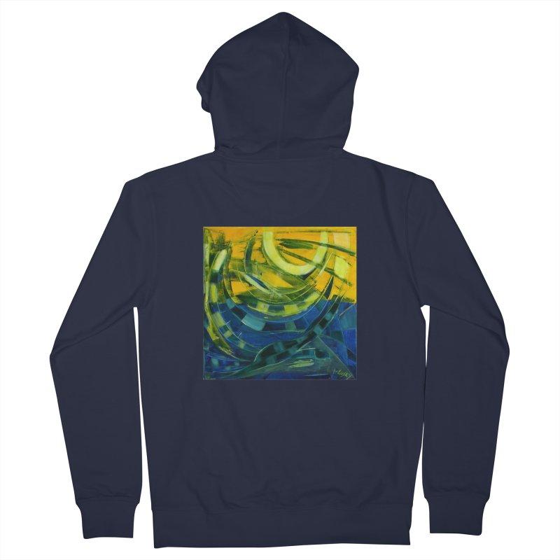 Snail Men's Zip-Up Hoody by Luskay Art Shop