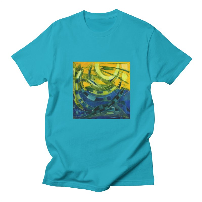 Snail Men's T-Shirt by Luskay Art Shop