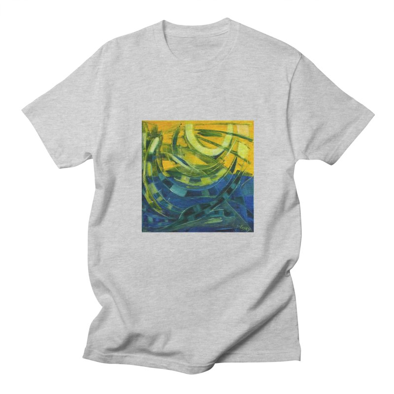 Snail Men's T-shirt by Luskay Art Shop