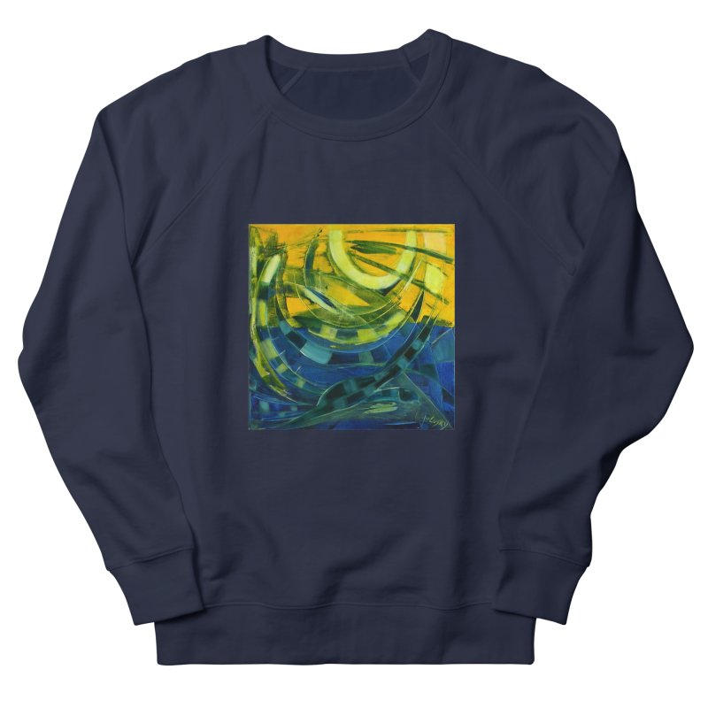 Snail Women's French Terry Sweatshirt by Luskay Art Shop