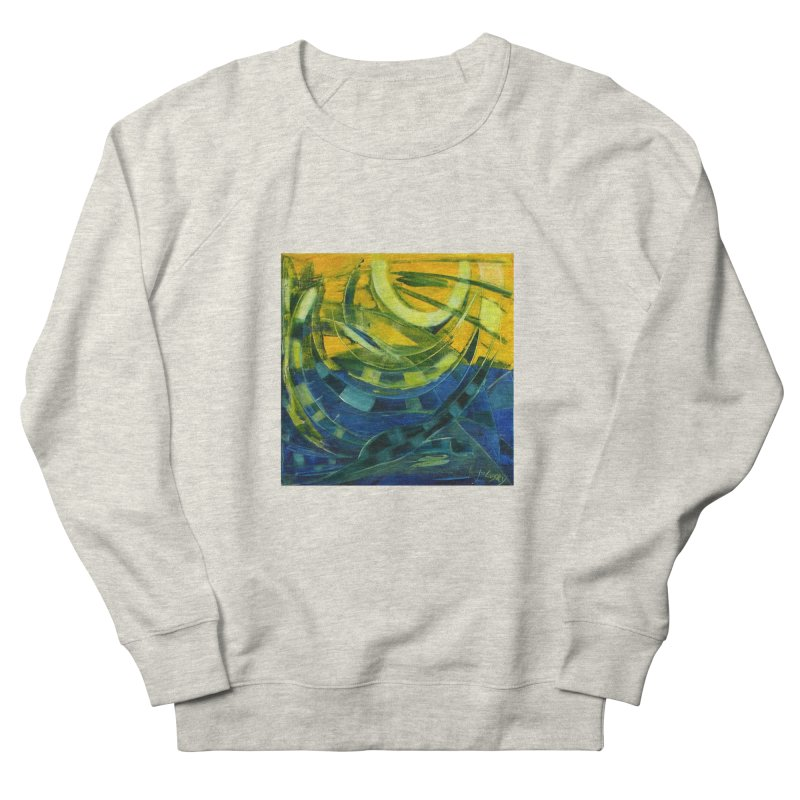 Snail Women's French Terry Sweatshirt by Luskay Art Shop