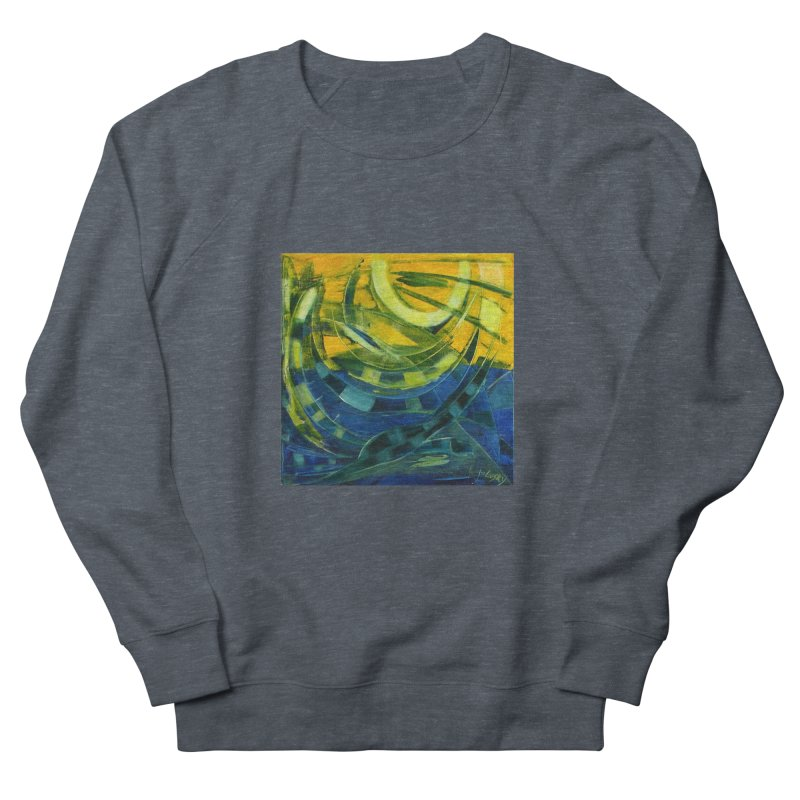 Snail Men's Sweatshirt by Luskay Art Shop