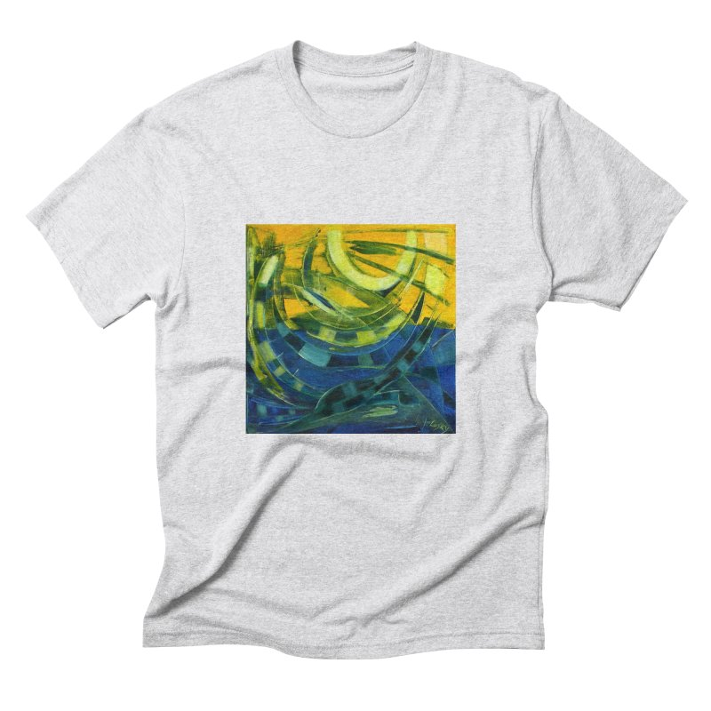 Snail Men's Triblend T-shirt by Luskay Art Shop