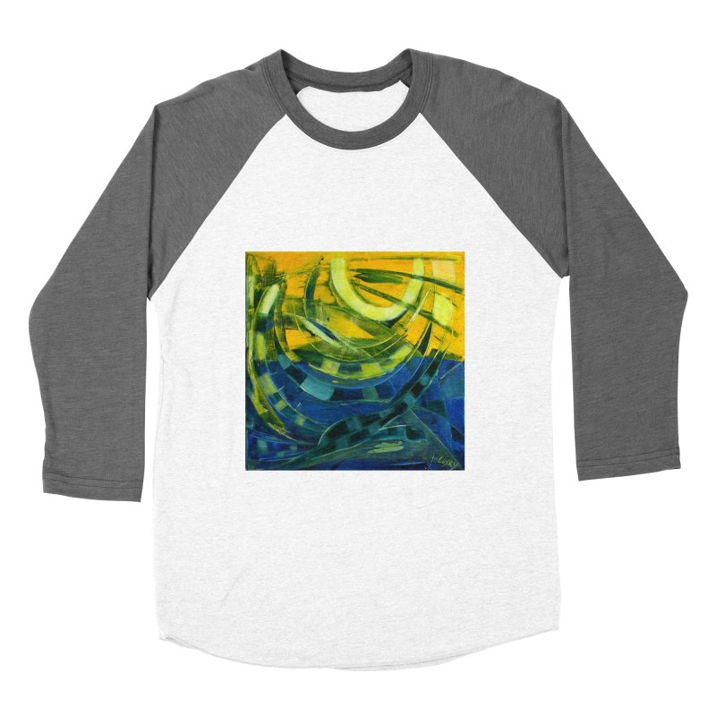 Snail Women's Baseball Triblend Longsleeve T-Shirt by Luskay Art Shop