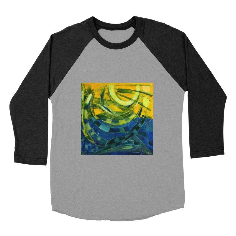 Snail Women's Baseball Triblend T-Shirt by Luskay Art Shop