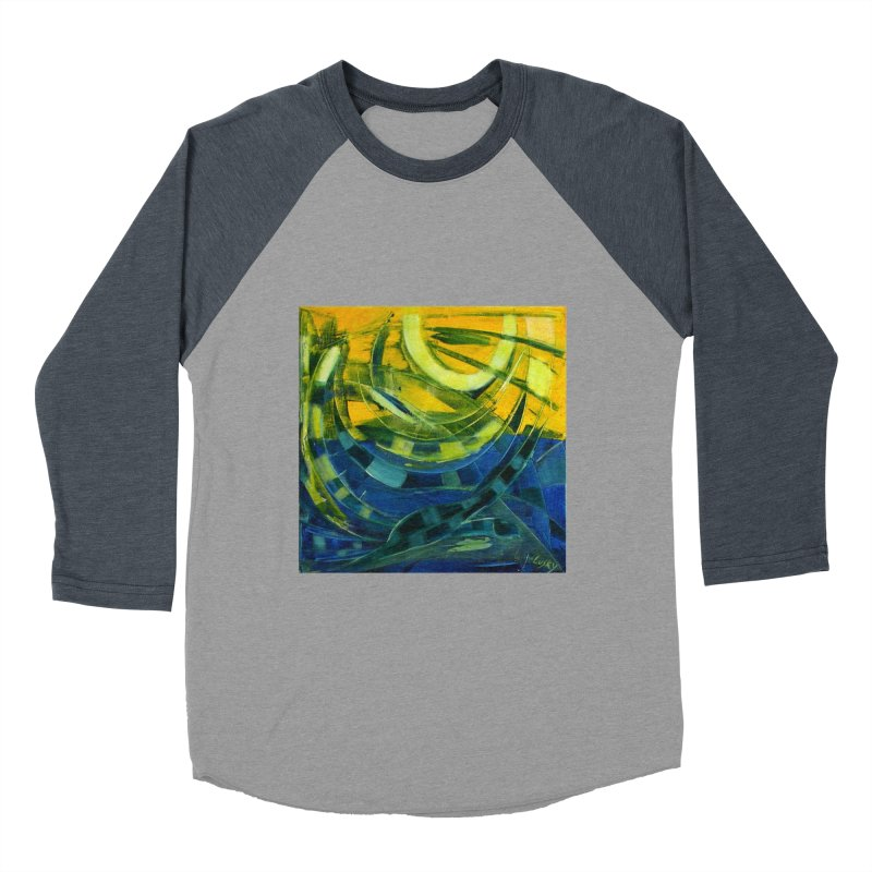 Snail Men's Baseball Triblend Longsleeve T-Shirt by Luskay Art Shop
