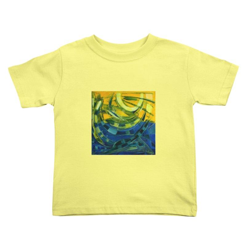 Snail Kids Toddler T-Shirt by Luskay Art Shop