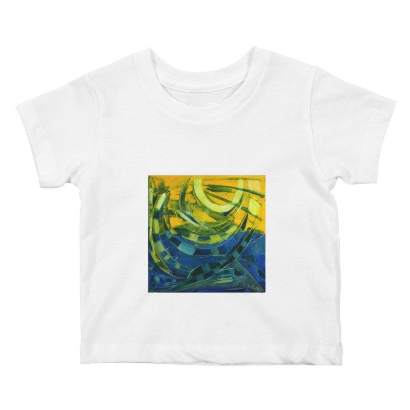 Snail Kids Baby T-Shirt by Luskay Art Shop