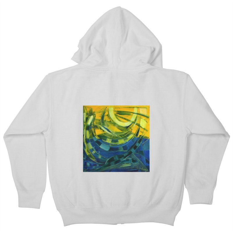 Snail Kids Zip-Up Hoody by Luskay Art Shop