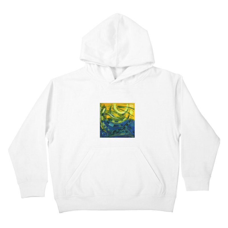 Snail Kids Pullover Hoody by Luskay Art Shop