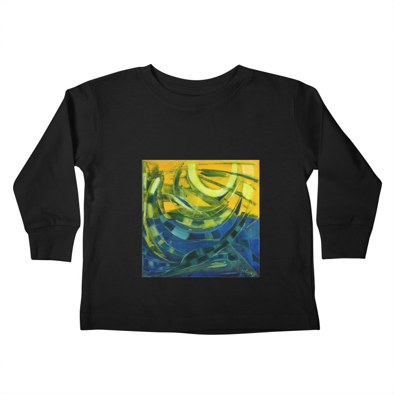 Snail Kids Toddler Longsleeve T-Shirt by Luskay Art Shop