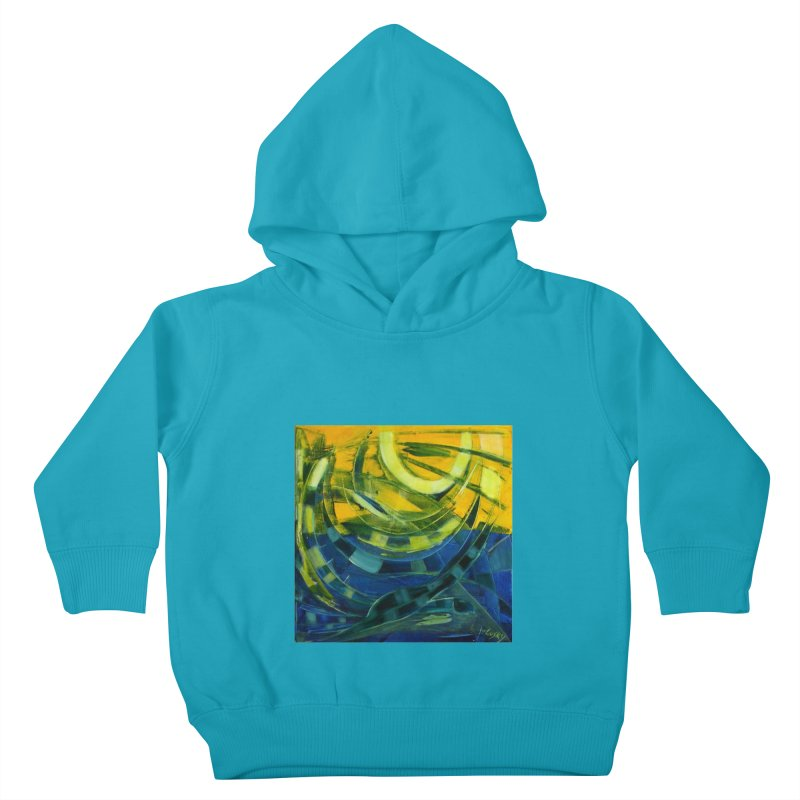 Snail Kids Toddler Pullover Hoody by Luskay Art Shop
