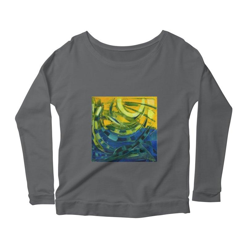 Snail Women's Scoop Neck Longsleeve T-Shirt by Luskay Art Shop