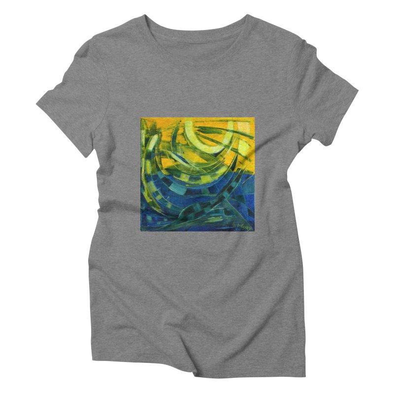 Snail Women's Triblend T-Shirt by Luskay Art Shop