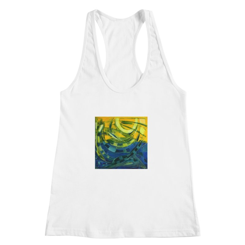 Snail Women's Racerback Tank by Luskay Art Shop