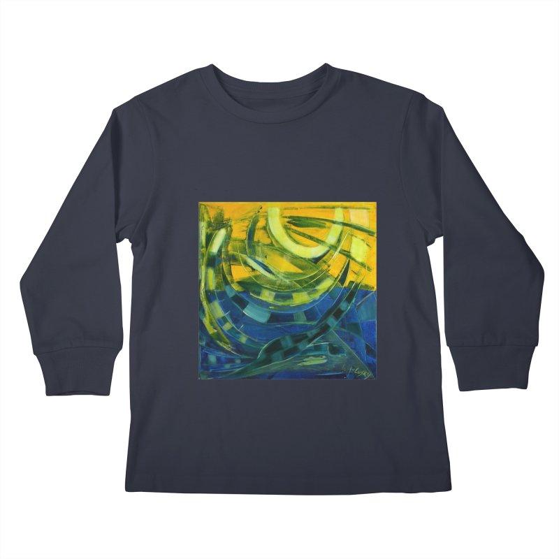 Snail Kids Longsleeve T-Shirt by Luskay Art Shop