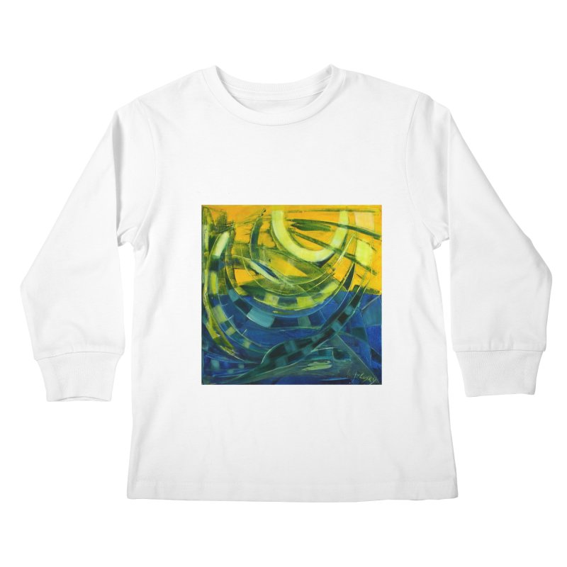 Snail Kids Longsleeve T-Shirt by Luskay Art Shop