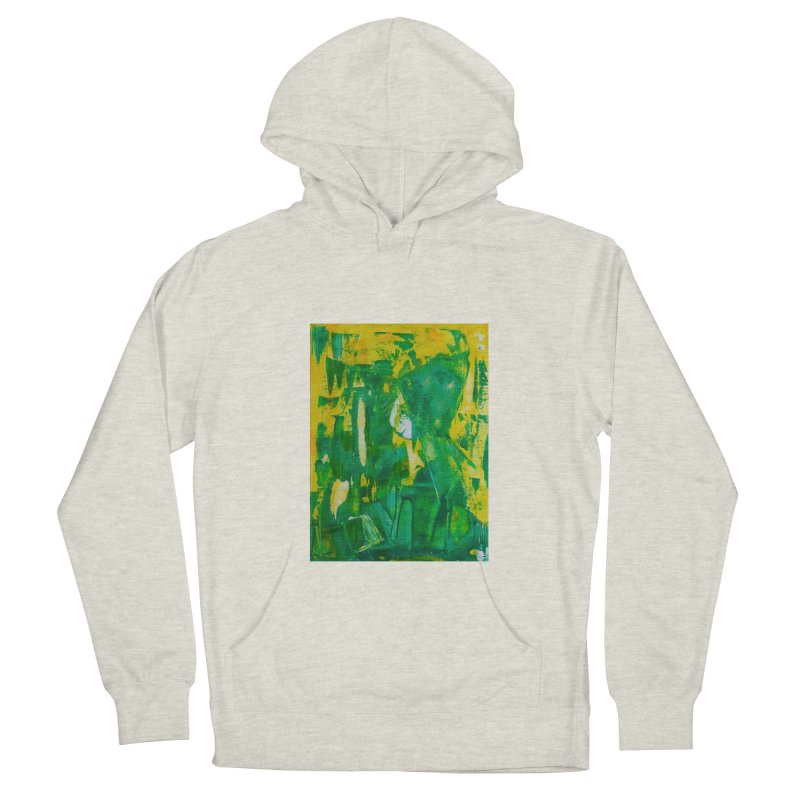 Lady Elf Men's French Terry Pullover Hoody by Luskay Art Shop