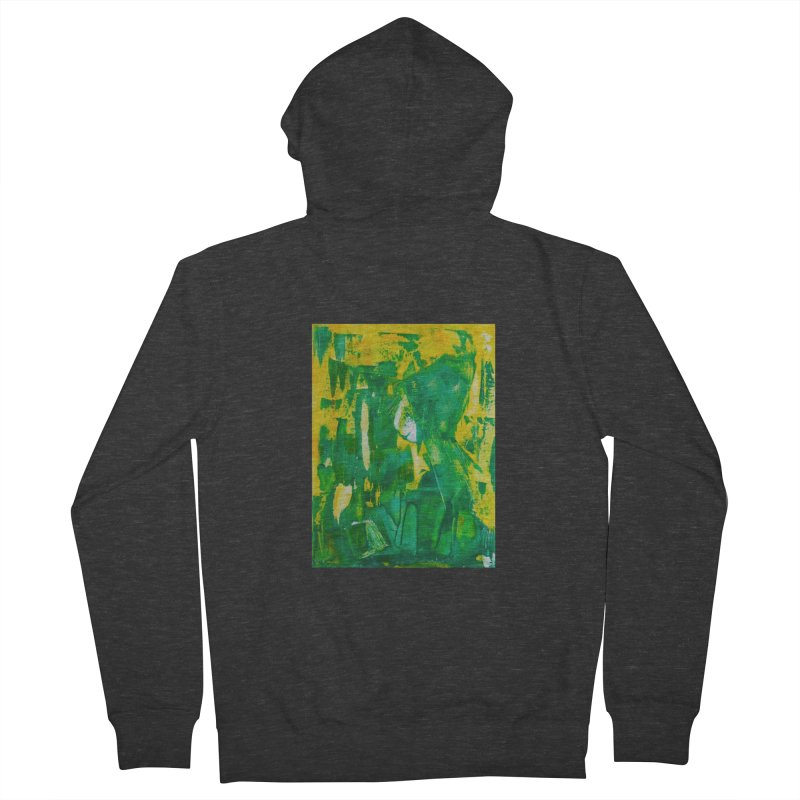 Lady Elf Women's French Terry Zip-Up Hoody by Luskay Art Shop