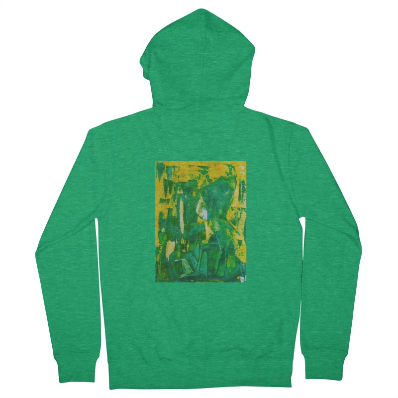 Lady Elf Men's French Terry Zip-Up Hoody by Luskay Art Shop