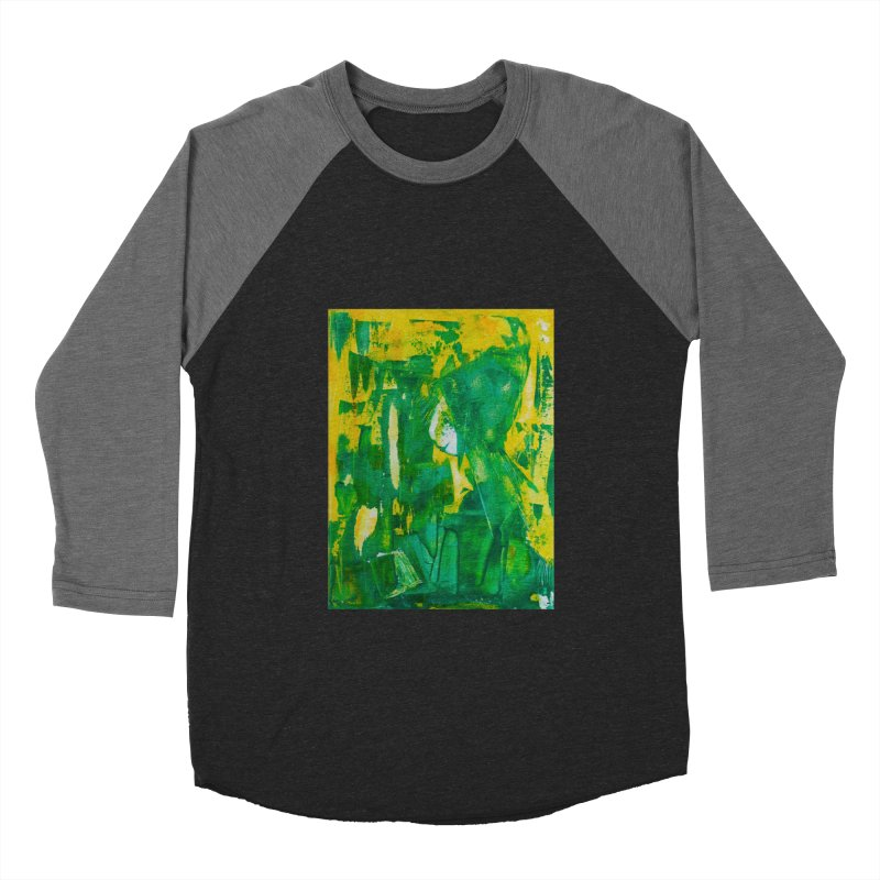 Lady Elf Women's Baseball Triblend T-Shirt by Luskay Art Shop
