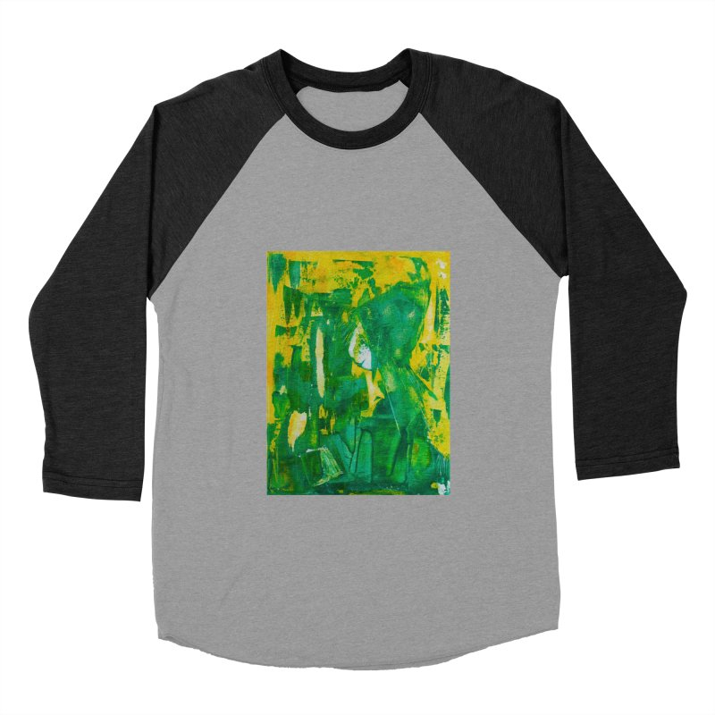 Lady Elf Women's Baseball Triblend Longsleeve T-Shirt by Luskay Art Shop