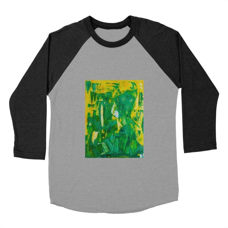 Lady Elf Men's Baseball Triblend T-Shirt by Luskay Art Shop