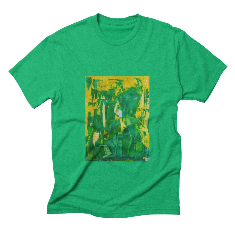 Lady Elf Men's Triblend T-shirt by Luskay Art Shop