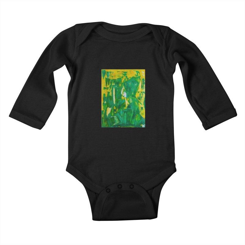 Lady Elf Kids Baby Longsleeve Bodysuit by Luskay Art Shop