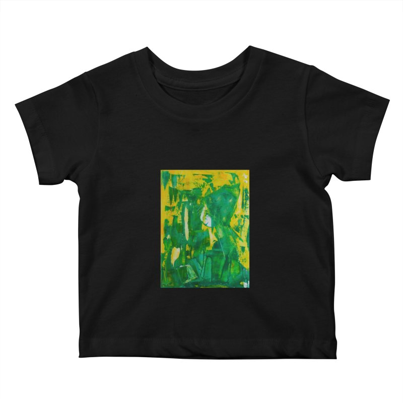 Lady Elf Kids Baby T-Shirt by Luskay Art Shop