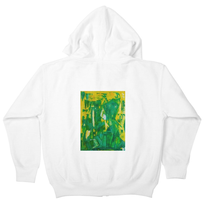 Lady Elf Kids Zip-Up Hoody by Luskay Art Shop