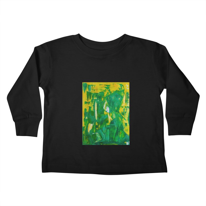 Lady Elf Kids Toddler Longsleeve T-Shirt by Luskay Art Shop